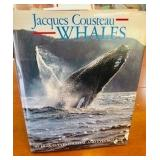 1986 Jacques Cousteau Whales Book