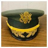 Military Officers Hat Dress green