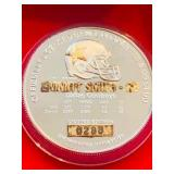 1995 One Ounce Silver Token NFL Emitt Smith
