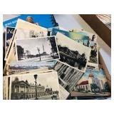 Big Box lot of Vintage postcard lot