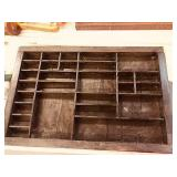 Antique Hamilton Pring Tray drawer