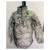 Medium Regular Camouflage Military rain jacket