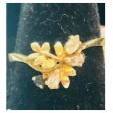 14K Gold Fashion ring size 8