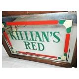 Killians Red Beer advertising mirror