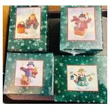 4 in boxes Longaberger Christmas Ornament lot