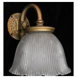 A PULLMAN COMPANY RAILCAR SIDE LAMP