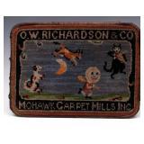 O.W. RICHARDSON MOHAWK CARPET MILLS ADVERTISING
