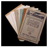 FOUR BUDA RAILROAD TRADE CATALOGS, CIRCA 1919