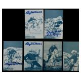 LOT OF CLAYTON MOORE SIGNED LONE RANGER ITEMS
