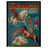 A RARE 1940 LONE RANGER PUNCH-OUT BOOK