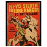 THE LONE RANGER TO THE RESCUE COMIC BOOK, 1939