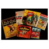 LOT OF LONE RANGER COLORING BOOKS AND ART KITS