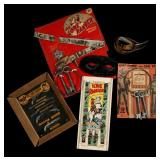 FIVE LONE RANGER OUTFIT AND ACCESSORY SETS