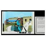 LOT OF LONE RANGER ANIMATION CELS