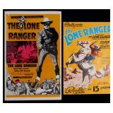 LONE RANGER SERIAL PRESSBOOK & CITY OF GOLD POSTER