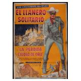 ARGENTINE LONE RANGER & THE LOST CITY MOVIE POSTER