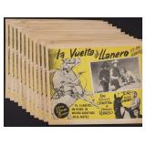 ELEVEN LONE RANGER MEXICAN CINEMA LOBBY CARDS