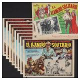 NINE LONE RANGER MEXICAN CINEMA LOBBY CARDS