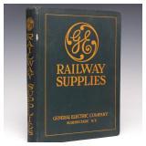 1922 GENERAL ELEC. RAILWAY SUPPLIES TRADE CATALOG
