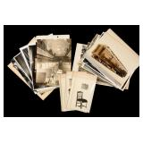 A COLLECTION OF HISTORICAL RAILROAD PHOTOGRAPHS