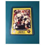 RARE 1978 Fleer Nick Buoniconti Super Bowl VII win