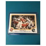 RARE 1979 Fleer Mike Garrett Super Bowl IV win  K