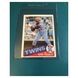 1985 Topps Kirby Puckett Rookie