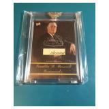 Franklin Roosevelt Relic card 1/1