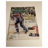 Wayne Gretzky Sports Illustrated