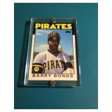 1986 Topps Traded Barry Bonds Rookie