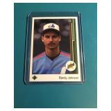 1989 Upper Deck Randy Johnson Rookie