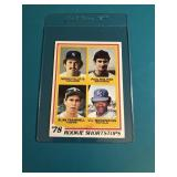 1978 Topps Paul Molitor Rookie