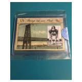 Chuck Bednarik Relic Card 1/1