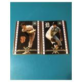 21993 Metallic Images Mickey Lolich & Gaylord Per