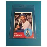 1963 Topps Ernie Banks