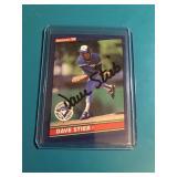 Dave Stieb Signed Card