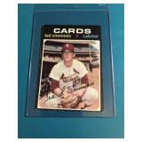 1971 Topps Ted Simmons Rookie