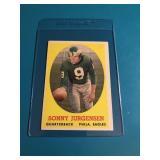 1958 Topps Sonny Jurgensen Rookie