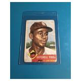 1953 Topps Satchell Paige-low grade