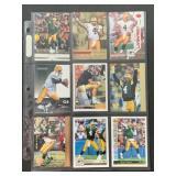 45 DIFFERENT 1991-2007 Brett Favre cards  Green B