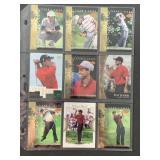 9 DIFFERENT 2001 Upper Deck Tiger Woods Rookie Yea