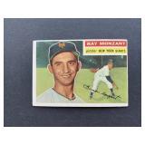 1956 Topps #264 Ray Monzant  New York Giants