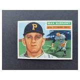 1956 Topps #209 Max Surkont  Pittsburgh Pirates