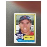 RARE 2009 Mike Trout Future Stars ROOKIE CARD  Ca