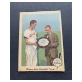 1959 Fleer Ted Williams #32 - 1946 - Most Valuable