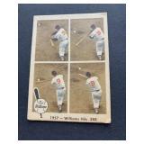 1959 Fleer Ted Williams #58 - 1957 - Williams hits