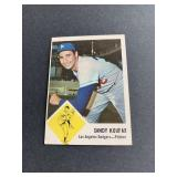 1963 Fleer #42 Sandy Koufax  Los Angeles Dodgers