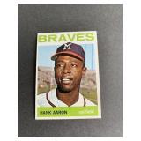 1964 Topps #300 Hank Aaron  Milwaukee Braves Brew