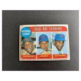 1969 Topps #4 Ron Santo Billy Williams Willie McCo