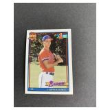 1991 Topps Chipper Jones ROOKIE CARD  Atlanta Bra